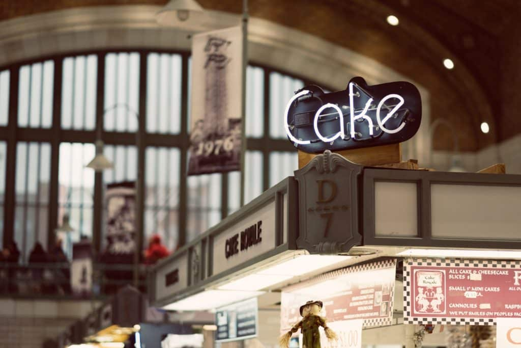 cake and sugar shop